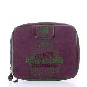 Juicy Couture Purple Velour Laptop Case